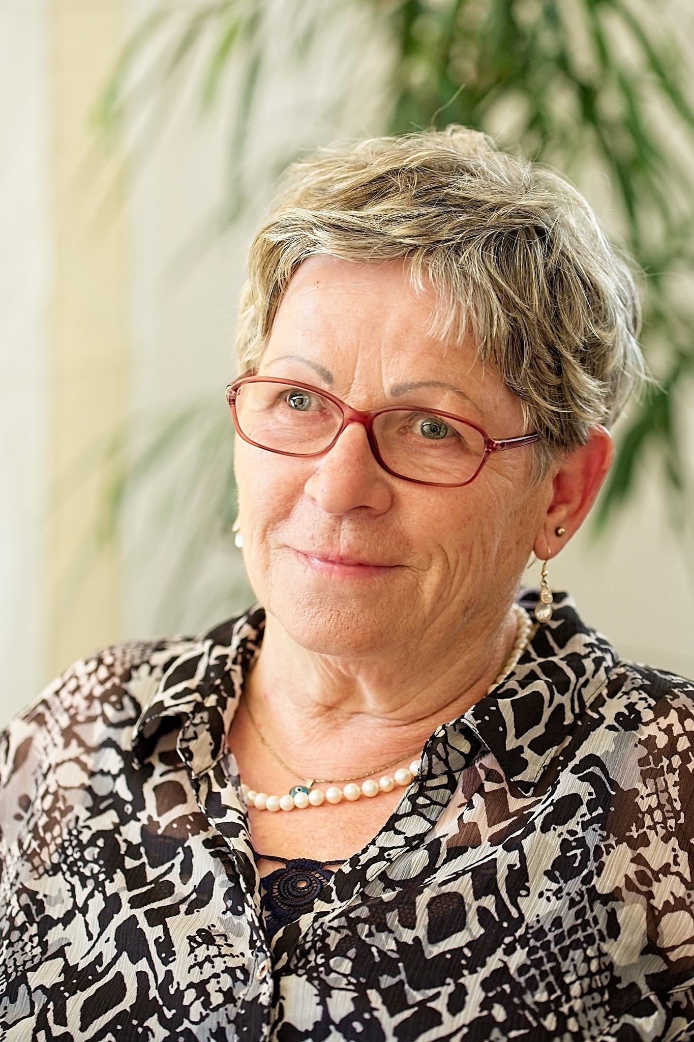 Heidemarie Schieke - Vorstand Hospizverein Nordhausen e.V.